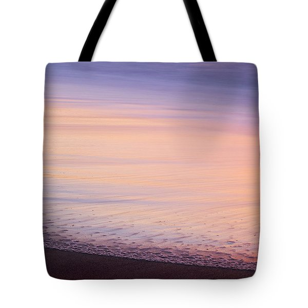 Tote Bag featuring the photograph Silky Sea by Whitney Goodey
