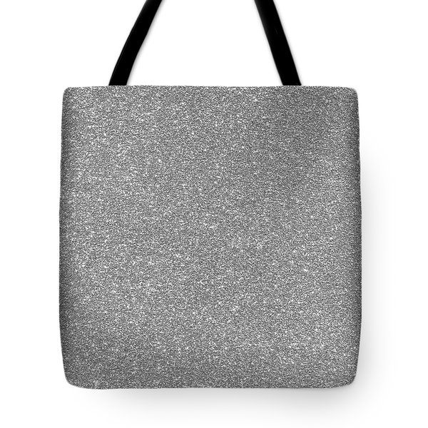 Tote Bag featuring the photograph Silver Glitter  by Top Wallpapers