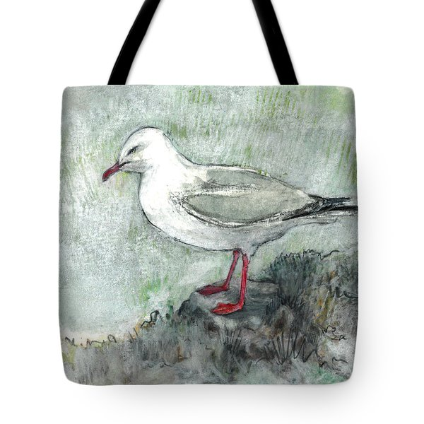 Silver Gull Tote Bag