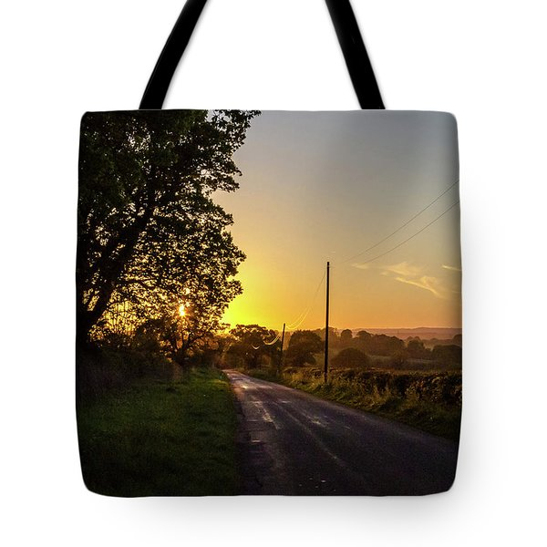 Silver Lines Tote Bag