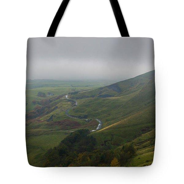 Shivering Mountain,  Tote Bag