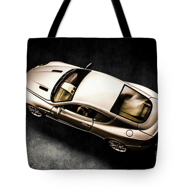 Silver Styling Tote Bag