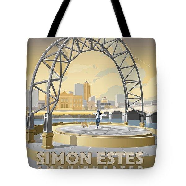 Simon Estes Amphitheater Tote Bag