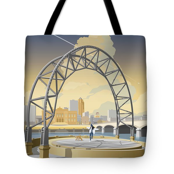 Simon Estes Amphitheater Tote Bag