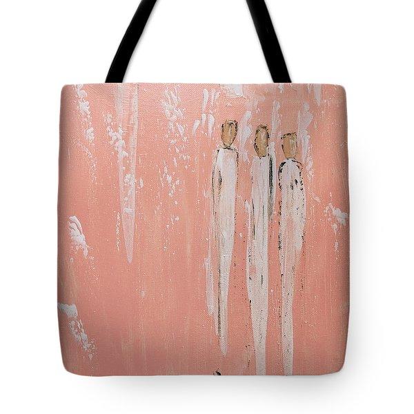 Friendship Angels Tote Bag