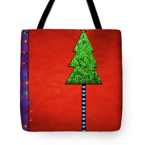 Simply Merry And Bright Tote Bag
