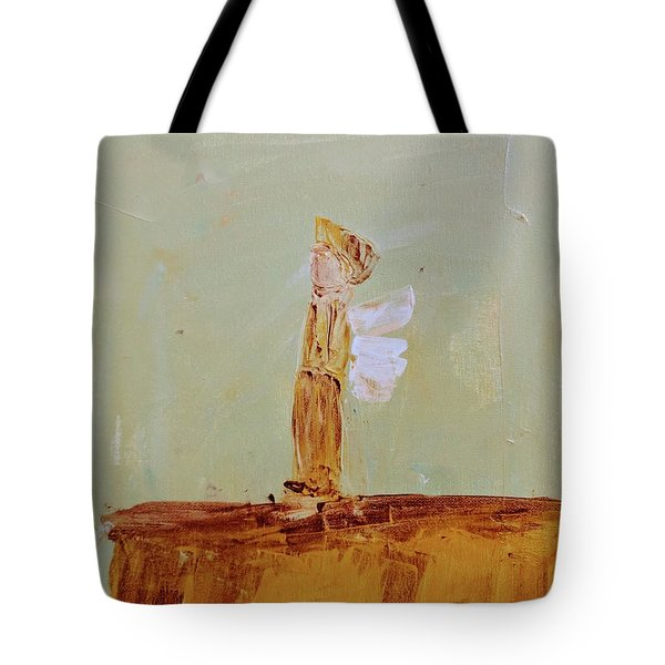 Simply Sweet Angel Boy Tote Bag
