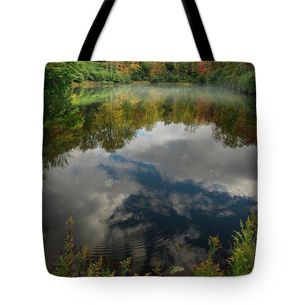 Sims Pond Blowing Rock North Carolina Tote Bag