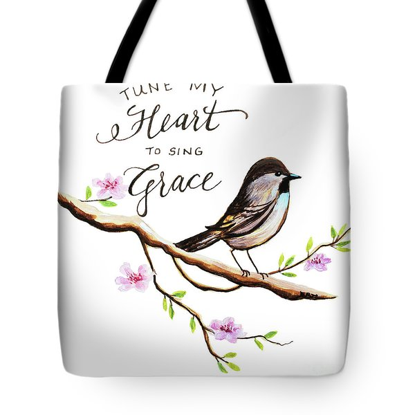 Sing Grace Tote Bag