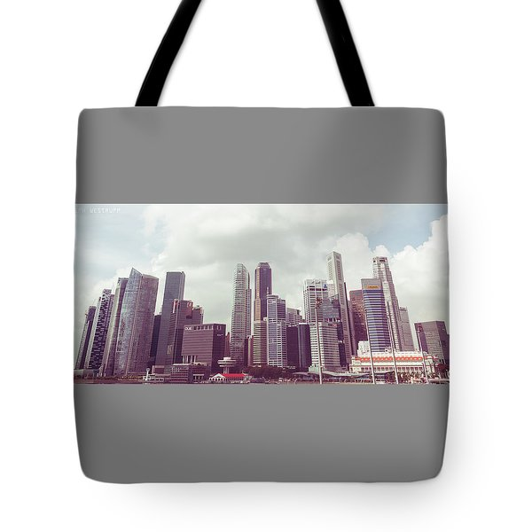 Singapore Cityscape The Second Tote Bag
