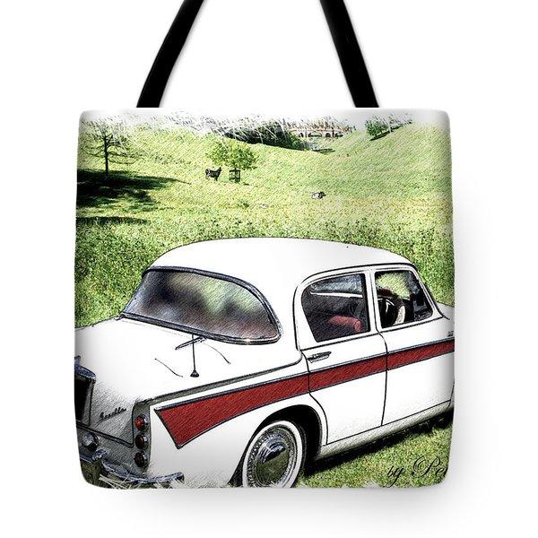 Singer Gazelle Tote Bag