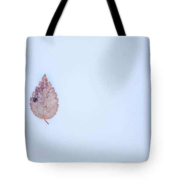 Single Leave Tote Bag
