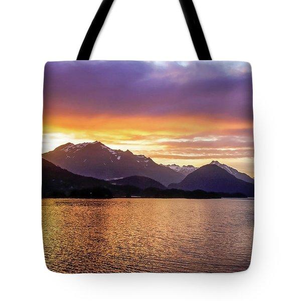 Sitka Sunrise Tote Bag