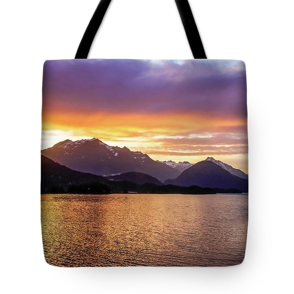 Sitka Sunrise Tote Bag