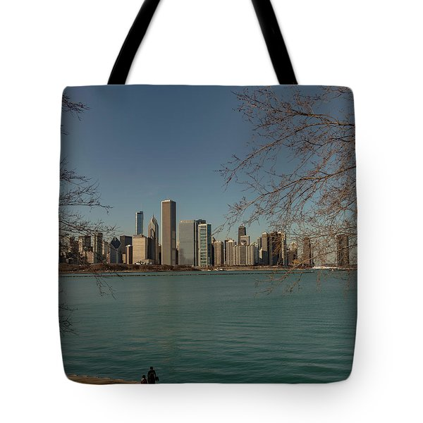 Sitting On A Summer Day Tote Bag