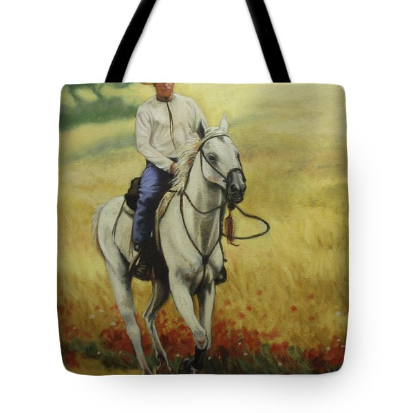 Six Feet Off The Ground Tote Bag