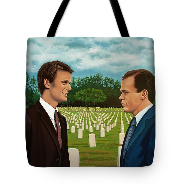 Six Feet Under Painting Tote Bag
