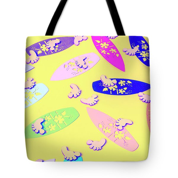 Sixties Surf Tote Bag