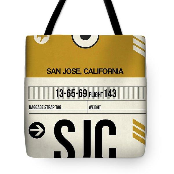 Sjc San Jose Luggage Tag I Tote Bag