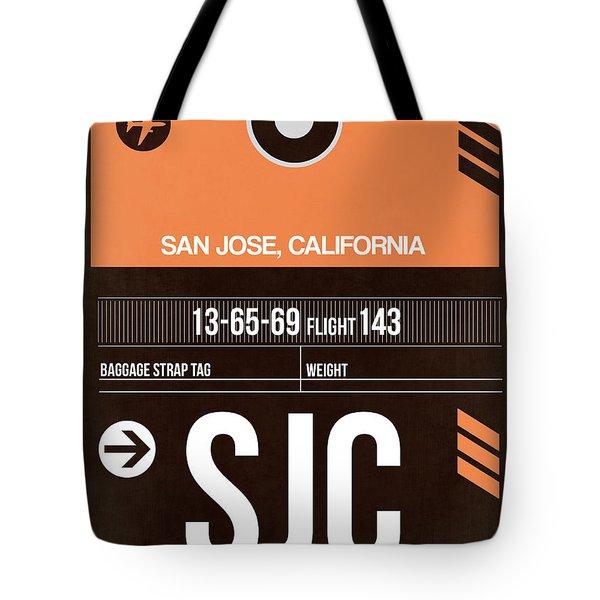 Sjc San Jose Luggage Tag II Tote Bag