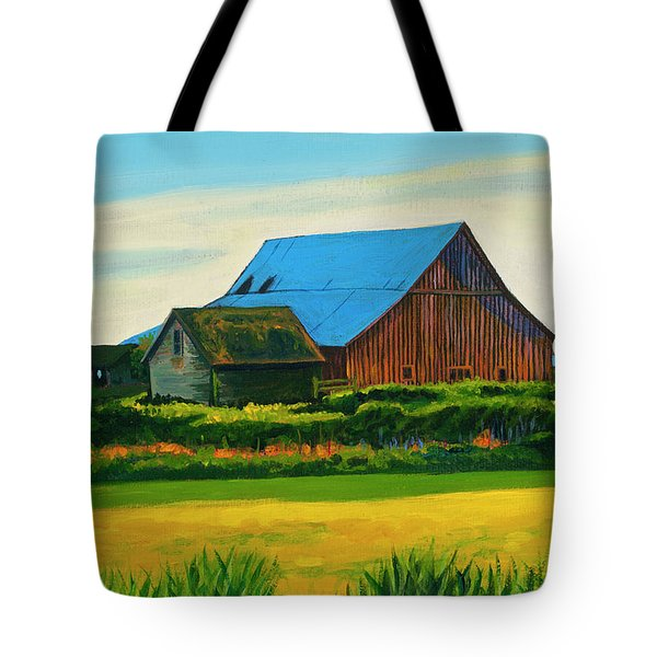 Skagit Valley Barn #4 Tote Bag