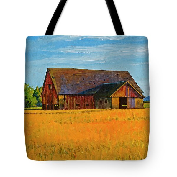 Skagit Valley Barn #9 Tote Bag