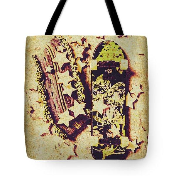 Skate Star Sponsorship Tote Bag