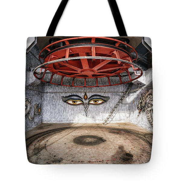 Ski Lift Turnaround Tote Bag