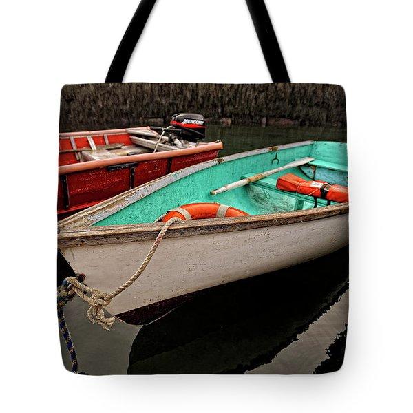 Skiffs Tote Bag