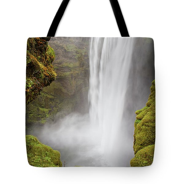 Skogafoss Iceland Tote Bag