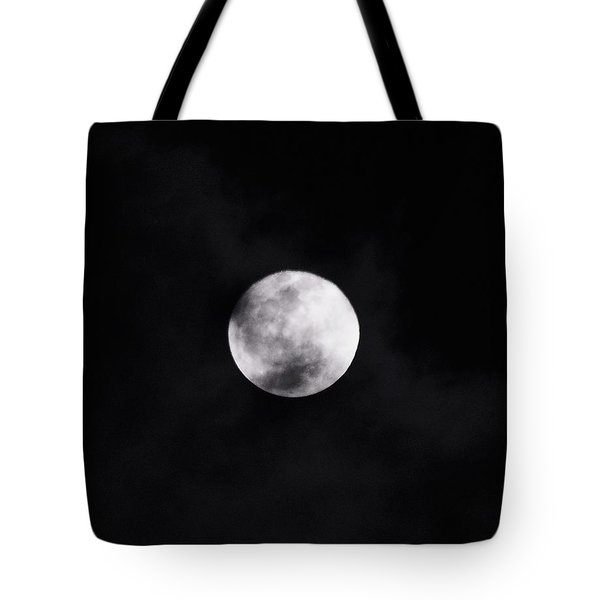 Skull Moon Tote Bag