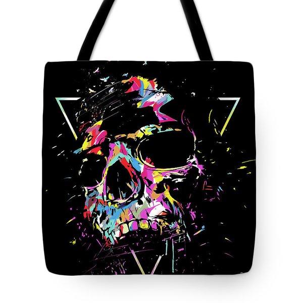 Skull X Tote Bag