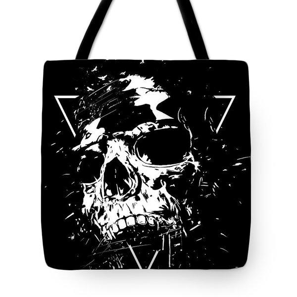 Skull X II Tote Bag