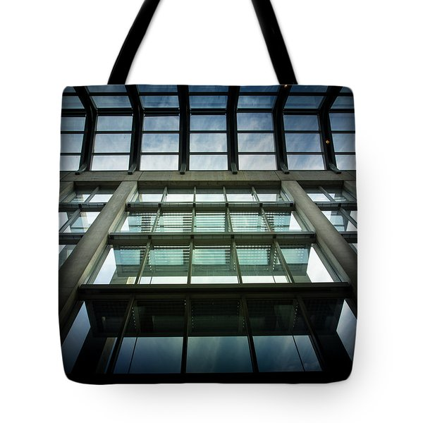 Tote Bag featuring the photograph Sky At The National Gallery Of Canada by Juan Contreras