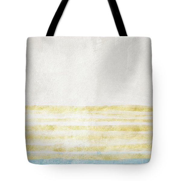 Sky Blue 1- Art By Linda Woods Tote Bag