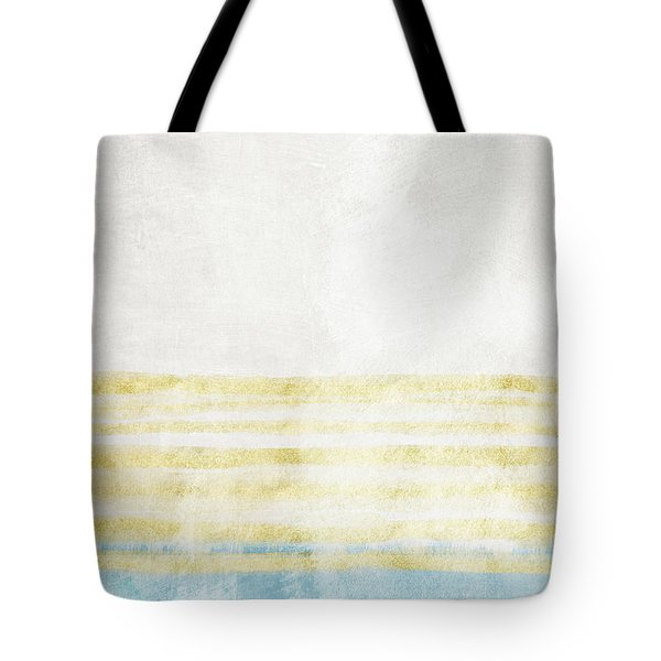 Sky Blue 2- Art By Linda Woods Tote Bag