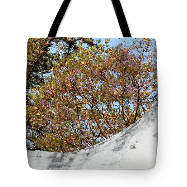 Tote Bag featuring the photograph Sky Bouquet by Rosanne Licciardi