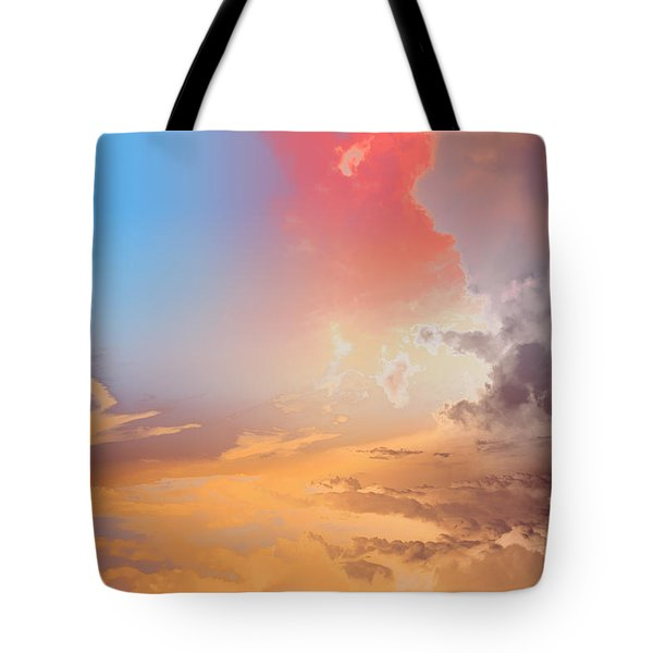 Sky Fight Tote Bag