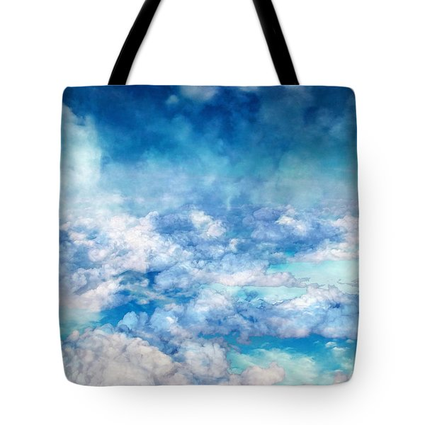 Sky Moods - A View From Above Tote Bag