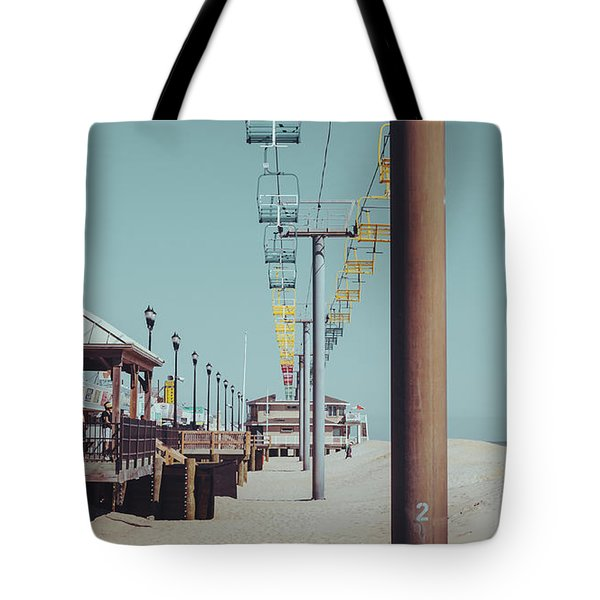 Tote Bag featuring the photograph Sky Ride by Steve Stanger