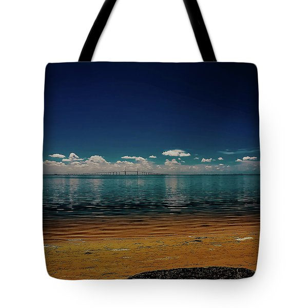 Tote Bag featuring the photograph Sky Way by Randy Sylvia
