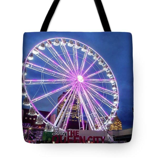 Skystar Ferris Wheel Tote Bag