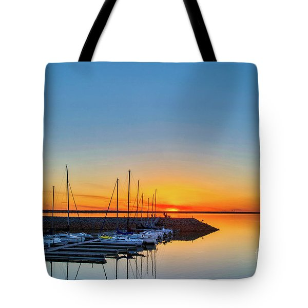 Sleeping Yachts Tote Bag
