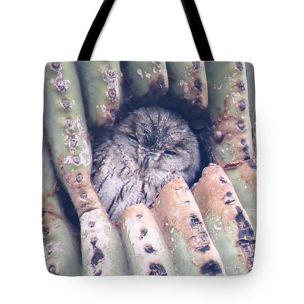 Sleepy Eye Tote Bag