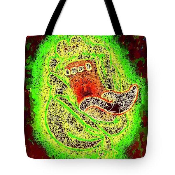 Slimer Ghostbusters Tote Bag
