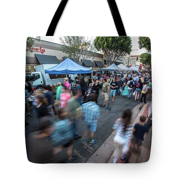 Slo Farmers Market Tote Bag
