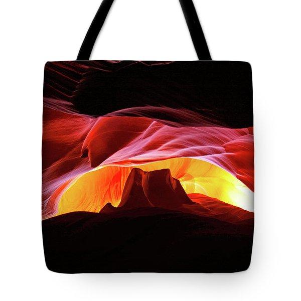 Slot Canyon Mountain Tote Bag