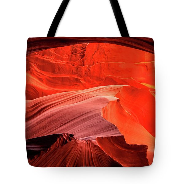 Slot Canyon Waves 1 Tote Bag