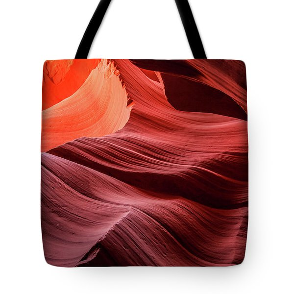Slot Canyon Waves 2 Tote Bag
