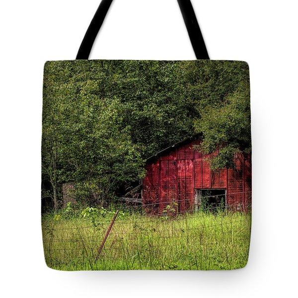 Small Barn Tote Bag